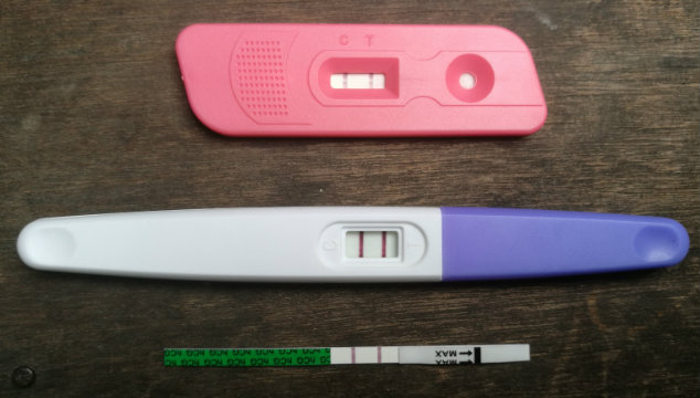 Types of pregnancy tests