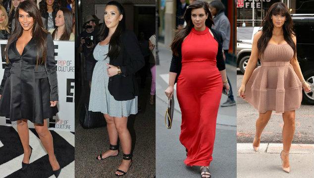 Kim Kardashian Pregnant with Her Second Baby