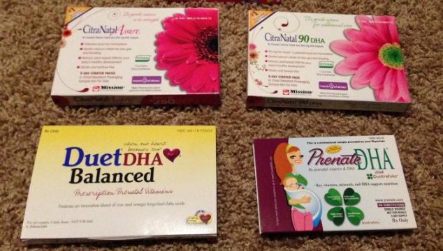 Which Prenatal Vitamins have DHA