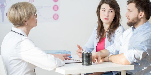 preconception check up with your doctor