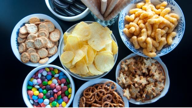 avoid junk foods when trying to conceive
